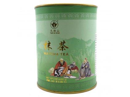 Tian Hu Shan Matcha Tea Čajový Prášek 80g CHN