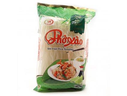 Rýžové Široké Nudle Pho Xao Na Smažení 500g VNM