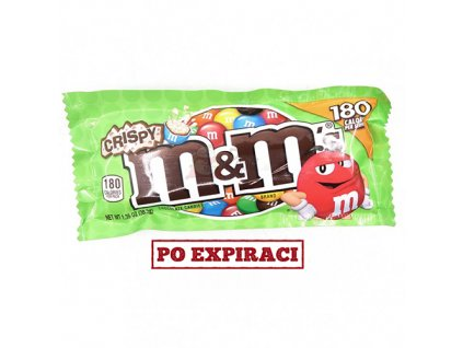 M&M's Crispy 38,3g USA