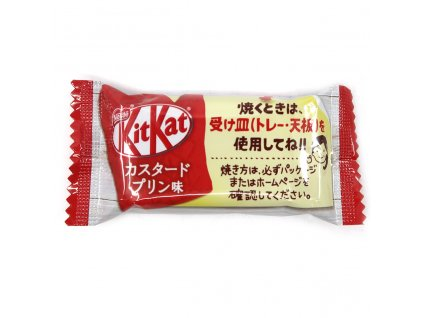 KitKat Custard Pudding 1ks 11.6g JAP