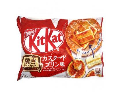 KitKat Custard Pudding Balení 140g JAP