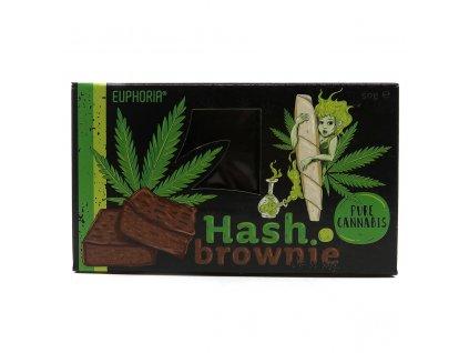 Euphoria Hash Brownie Pure Cannabis 50g EU