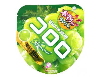 Kororo Muscat Gumové Bonbony 48g JAP