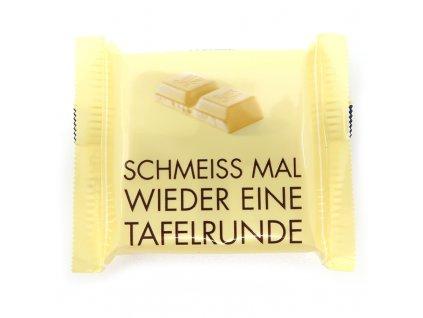 Ritter Sport mini čokoláda bílá,17g - PEPIS.SHOP