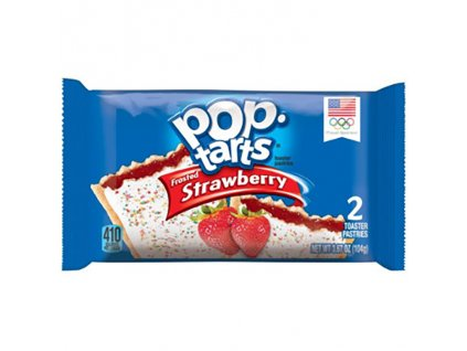 kelloggs pop tarts frosted strawberry 2 toaster pastries