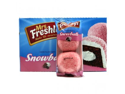 Mrs. Freshley's Snowballs Balení 960g USA