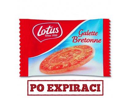 Lotus Galette Bretonne Máslové Bretaňské Sušenky 7g BEL
