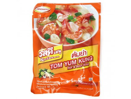 Tom Yum Kung Hot & Sour Polévka v Prášku 60g THA