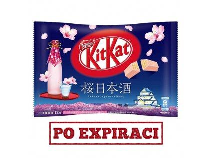 KitKat Mini Sakura Sake Balení 140g JAP