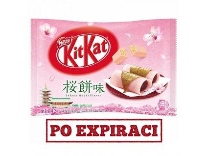 KitKat Mini Sakura Mochi Balení 140g JAP