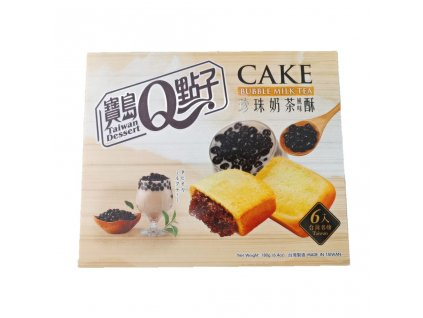 taiwan dessert bubble milk tea cake