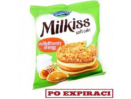 Milkiss Cake Medový Pomerančový Dortík 50g BGR