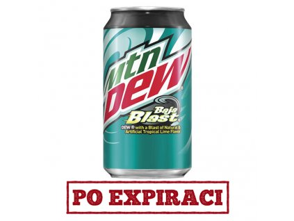 Mountain Dew Baja Blast 355ml USA