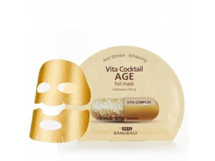 BNBG Vita Cocktail Age Foil Mask 30ml KOR 2