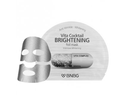 BNBG Vita Cocktail Brightening Foil Mask 30ml KOR