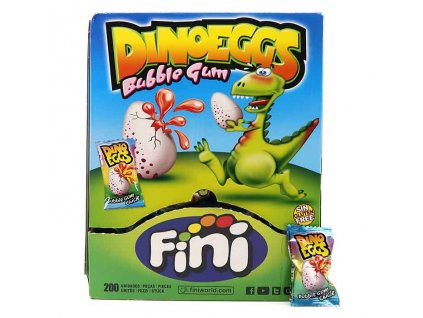 Fini Dino Eggs Žvýkačka 1ks 5g ESP