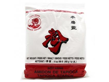 Cock Brand Rýžová Mouka Tapioca Starch Bot Nang 400g THA