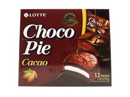 Lotte Choco Pie Marshmallow Kakaové Balení 336g KOR