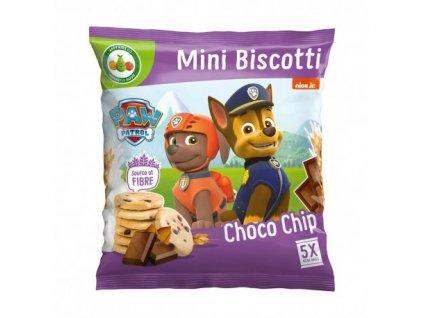 Nickelodeon Paw Patrol Mini Čokoládové Sušenky 100g UK