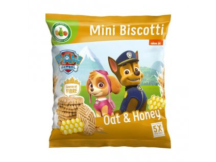 Nickelodeon Paw Patrol Mini Medové Sušenky 100g UK