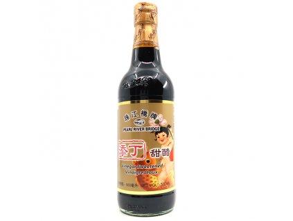 PRB Sweet Rice Vinegar Sladký Tmavý Rýžový Ocet 500ml CHN