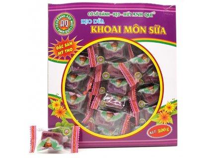 Žvýkací Kokosové Taro Bonbóny Balení 500g VNM