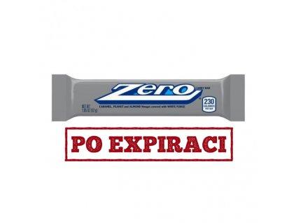 Hershey's Zero Karamelová Tyčinka s Bílou Čokoládou Oříškami a Arašídy 52g USA