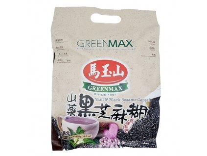 Greenmax Cereálie Yam & Černý Sezam Balení 455g TWN