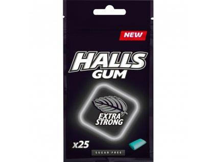 Halls Gum Extra Strong Žvýkačky 36.5g HUN