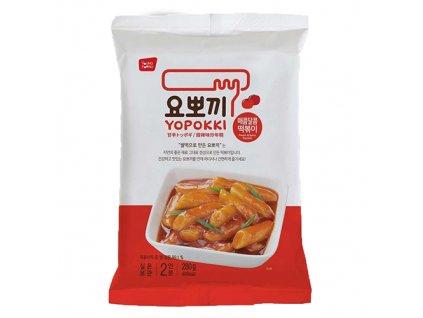 Yopokki Sweet & Spicy Tteokbokki Topokki 140g KOR