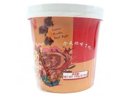 Yumei Snail Style Šnečí Polévka v Misce 190g CHN