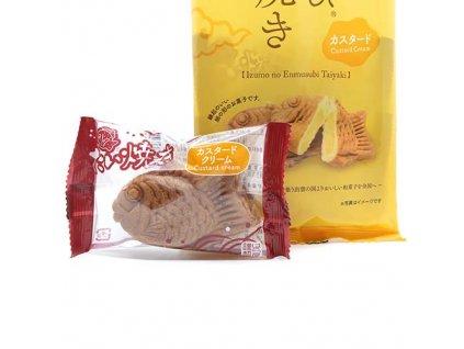 Haraya Taiyaki Custard Cream 1ks 30g JAP