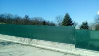 Stínící síť na plot