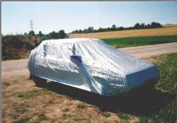 Zakrývací autoplachta