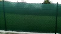 Zelená síť na plot