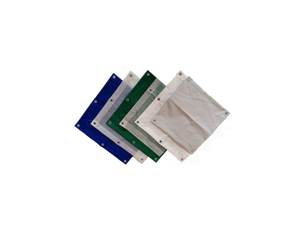 zakrývací plachta modrá 3 x 7 m