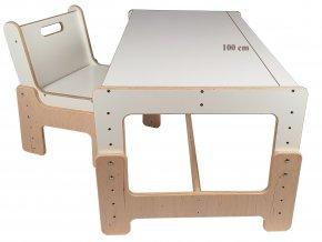 rostouci nabytek stolek a zidle velky 4.pozice s popisem