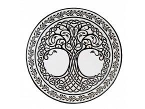 nastenny obraz strom zivota relief