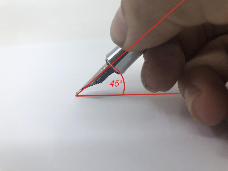 Jak správně psát plnicím perem