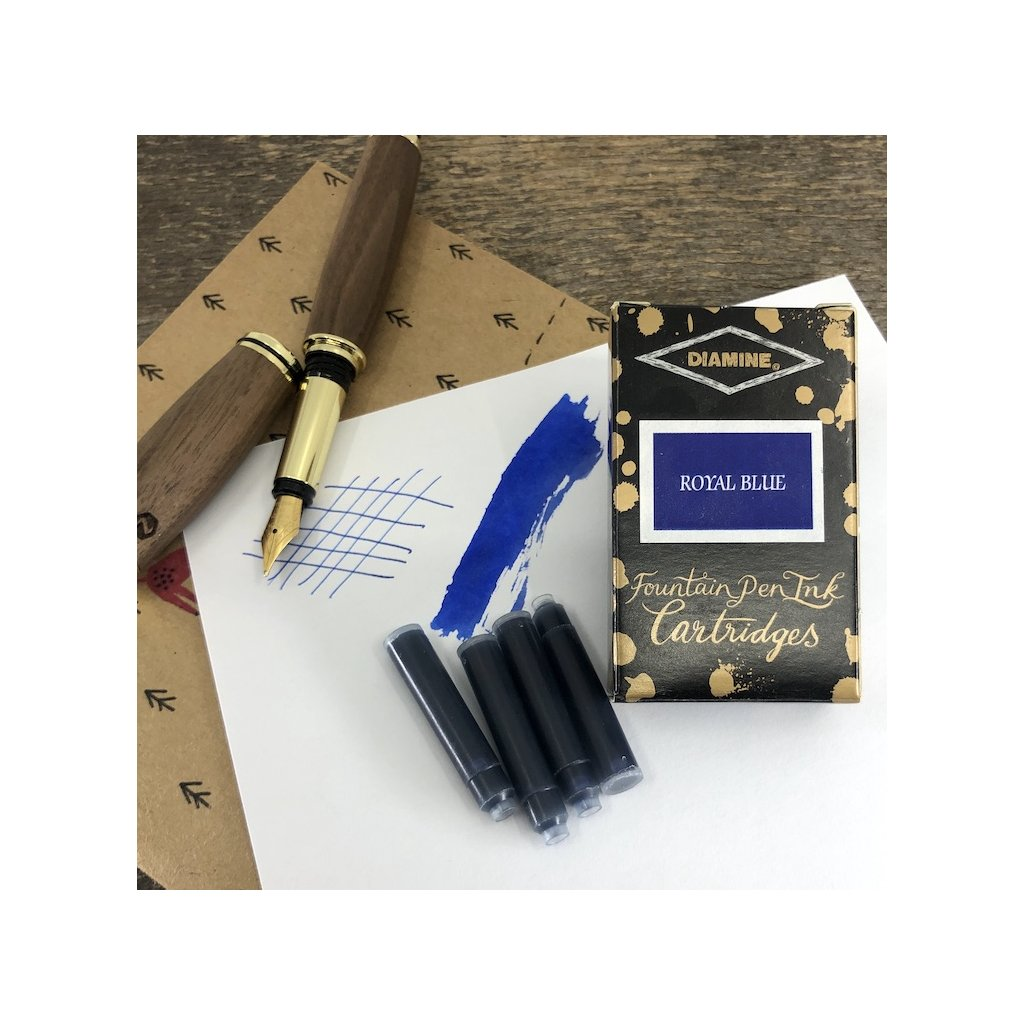Bombicky diamine royal blue 18ks