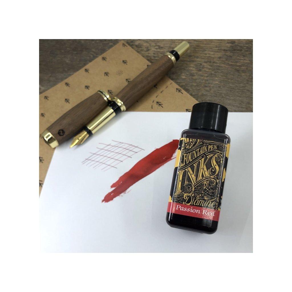 Inkoust diamine passion red 30m