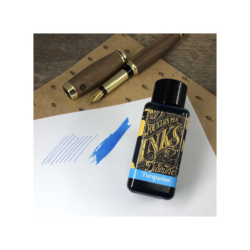 Inkoust diamine turquoise 30ml