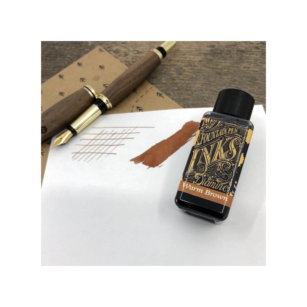 Inkoust diamine warm brown 30ml