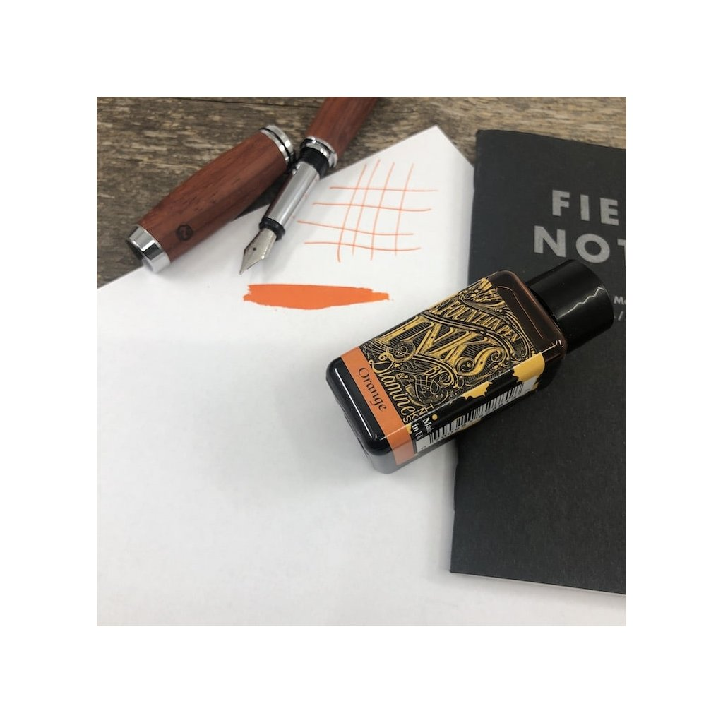 Inkoust Diamine orange.JPG