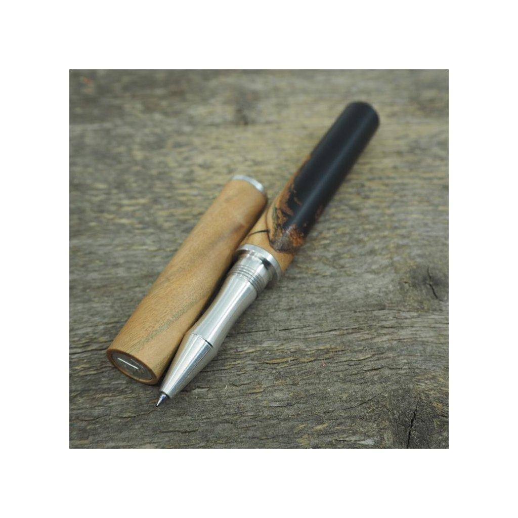 luxusni drevene pero Altos Oliva+černá pryskyřice (11)