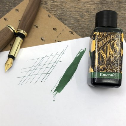 Inkoust diamine emerald 30ml
