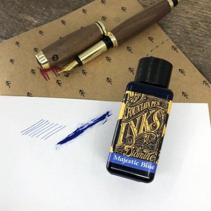 Inkoust diamine majestic blue 30m