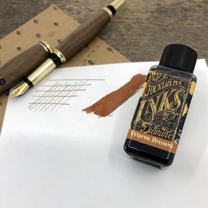 Inkoust diamine warm brown 30ml