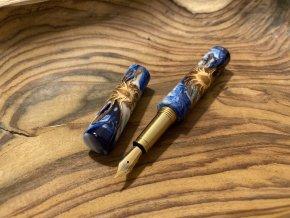 Plnící pero s šiškou zalitou v pryskyřici - Zero (prodáno)