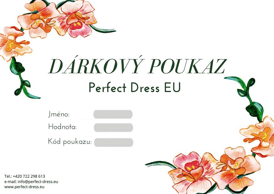 Dárkový Poukaz Perfect Dress EU